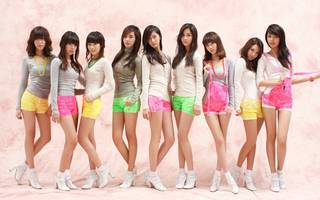 Junge japanische Mädchen.