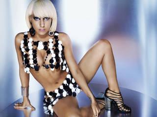 Fondos de Escritorio con escandalosa y encantadora Lady Gaga.